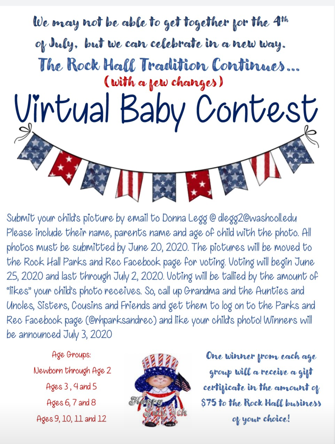 Parks and Rec baby contest