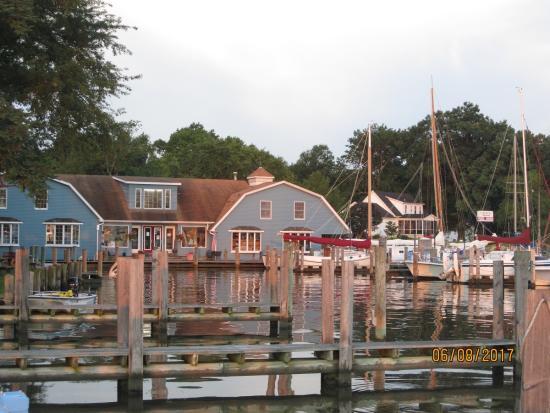 Lankford Bay Marina on Davis Creek in Rock Hall, Maryland