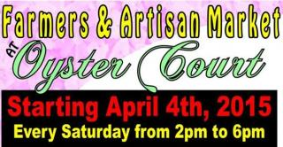 Farmers and Artisans Market - weekly in Oyster Court in Rock Hall, MD