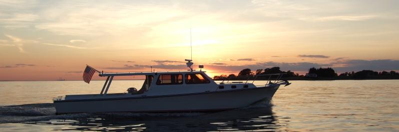 Chesapeake Lady fishing boat in Rock Hall, MD