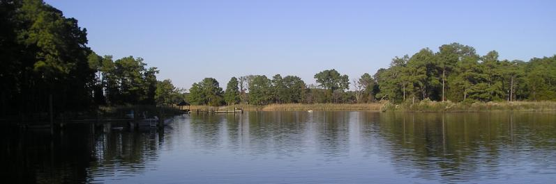 Panoramic water views in Rock Hall, MD